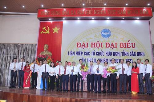 Đại hội lần thứ II Liên hiệp các tổ chức hữu nghị tỉnh Bắc Ninh, nhiệm kỳ 2016-2021.