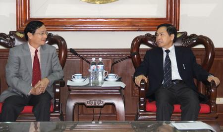 Chủ tịch Uỷ ban Nhân dân tỉnh Thái Nguyên tiếp đoàn Liên hiệp