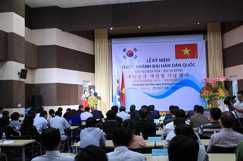 Lễ kỷ niệm Quốc khánh nước Đại Hàn Dân Quốc tại thành phố Cần Thơ
