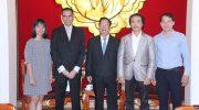 Chủ tịch Liên hiệp Vũ Xuân Hồng tiếp Đại sứ Ma-lai-xi-a