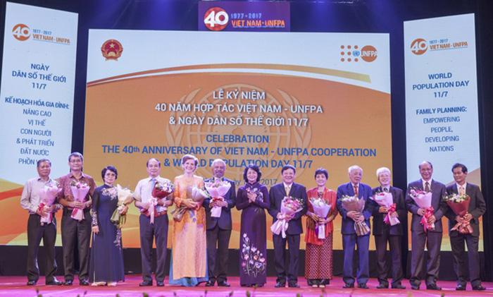 Lễ kỉ niệm hợp tác giữa Việt Nam và UNFPA