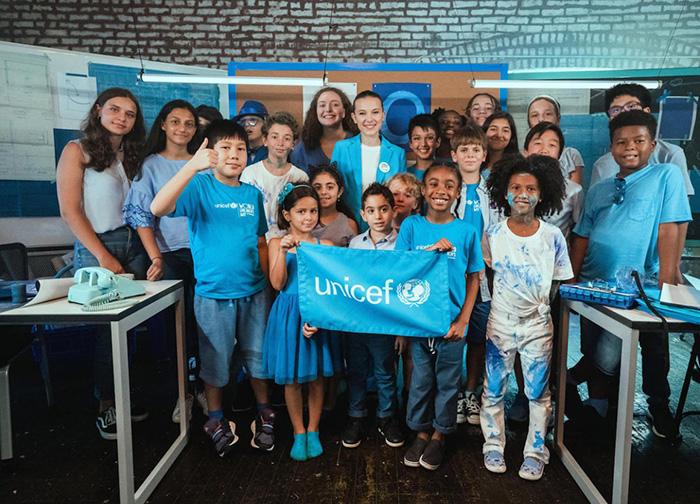Các chiến dịch của UNICEF luôn hướng đến sự phát triển mạnh khoẻ của thiếu nhi